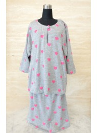 * My heart belongs to you baju kurung for Girls